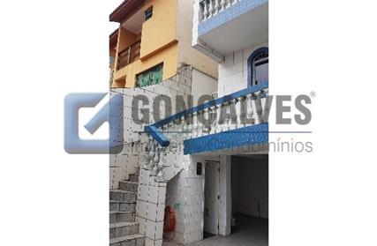 Casa Térrea para Venda, Centro Santo André