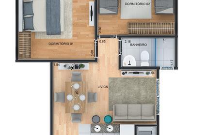 Apartamento para Venda, Jardim Idel