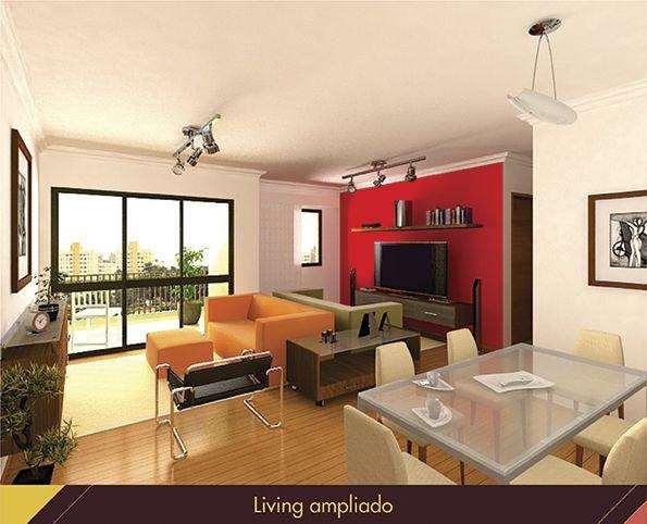   Foto do Living Ampliado