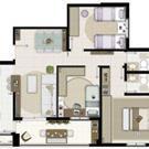 3 Dormitórios PONTA