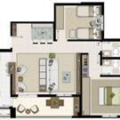 3 Dormitórios PONTA AMPLIADO