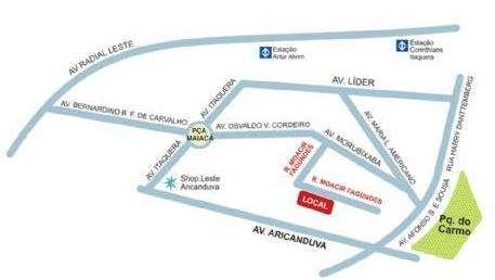 Cond. Cidade do Sol Reserva | Mapa de Localização