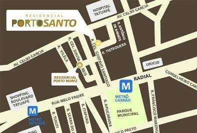 Residencial Porto Santo | Mapa de Localização