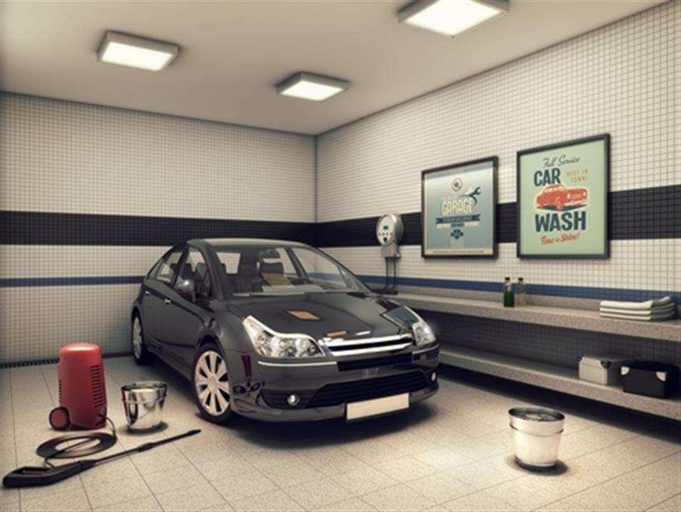 | Perspectiva Artística - Car Wash