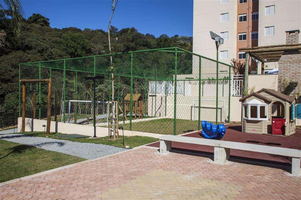 | Perspectiva Artística - Quadra e Playground
