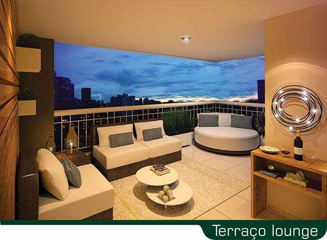 | Perspectiva Artística - Terraço Lounge