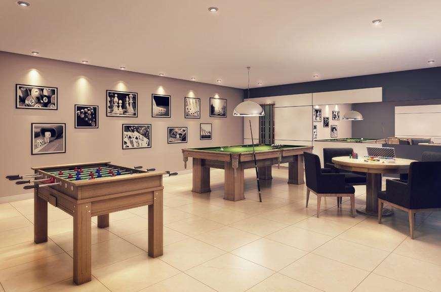 Hi Guacá | Perspectiva Artística - Salão de Jogos