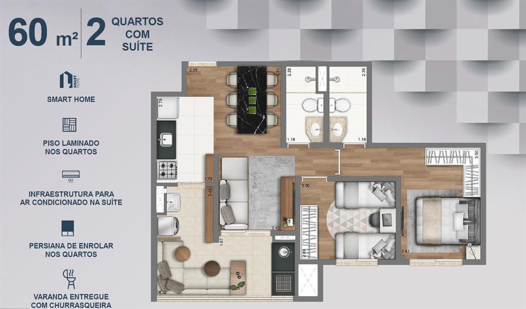 Venha morar com exclusividade no melhor do Tucuruvi Com toda acessibilidade  que o bairro oferece 6fa8c264fe