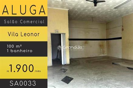 Sala Comercial para Alugar, Vila Leonor