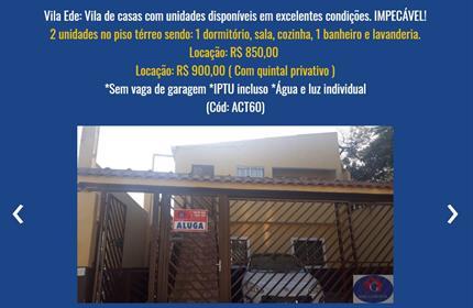 Kitnet / Loft para Alugar, Vila Ede