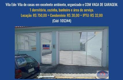 Apartamento para Alugar, Vila Ede