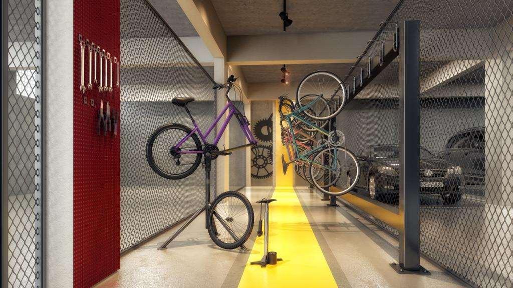 | Bicicletário