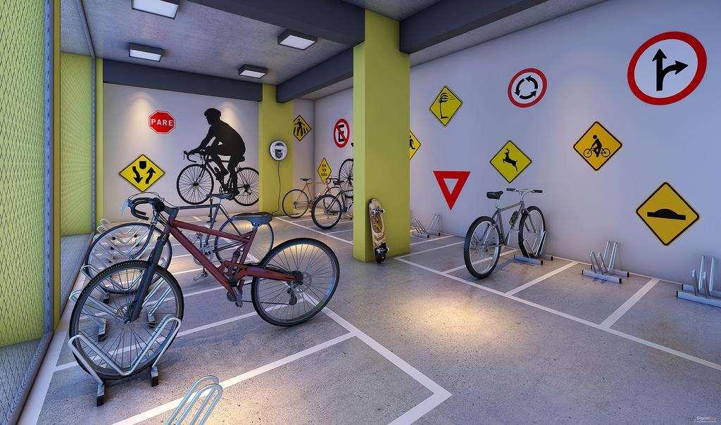 Alto São Francisco | Perspectiva Artística -Bicicletário