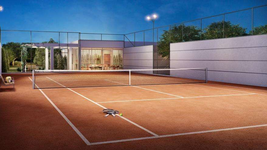 | Perspectiva Artística - Quadra de Tênis