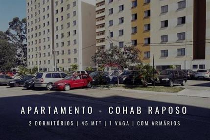 Apartamento para Venda, Raposo Tavares