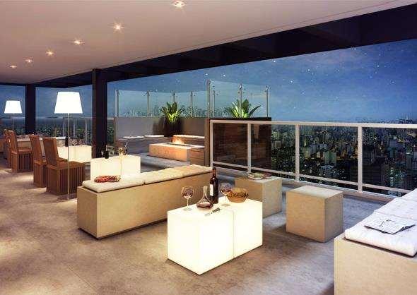 | Perspectiva Ilustrativa - Sky Lounge
