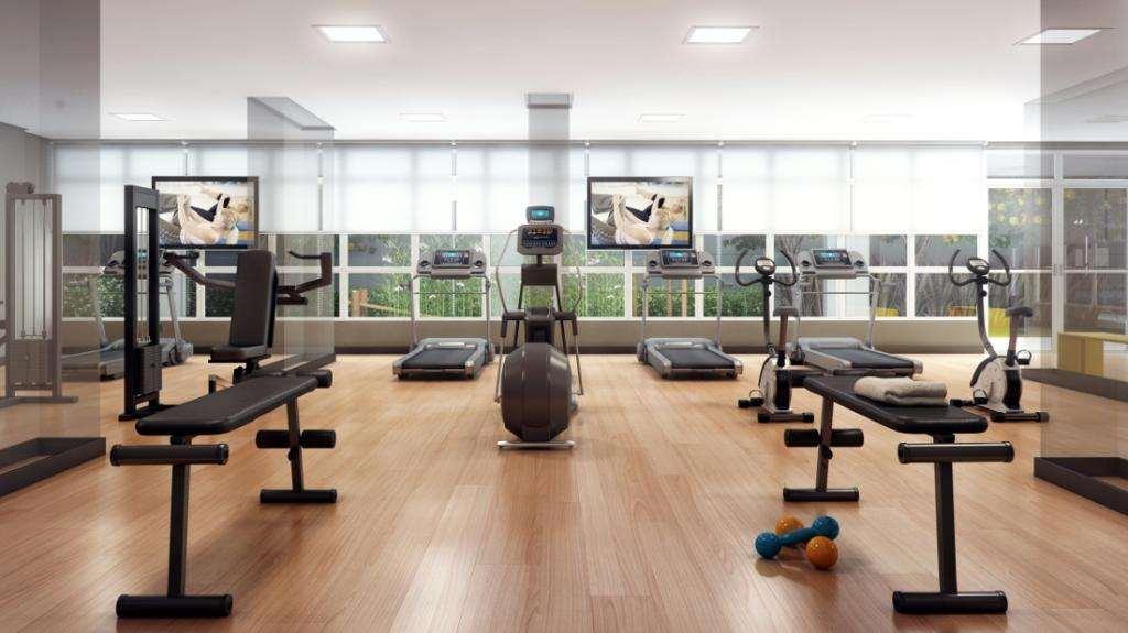 Quadra Vila Mascote | Perspectiva Artística - Fitness