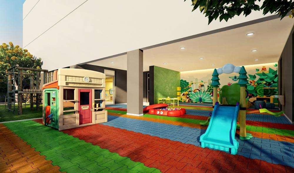 Quadra Vila Mascote | Perspectiva Artística - Playground