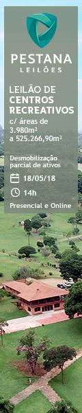 Banner Leilão de Centros Recreativos