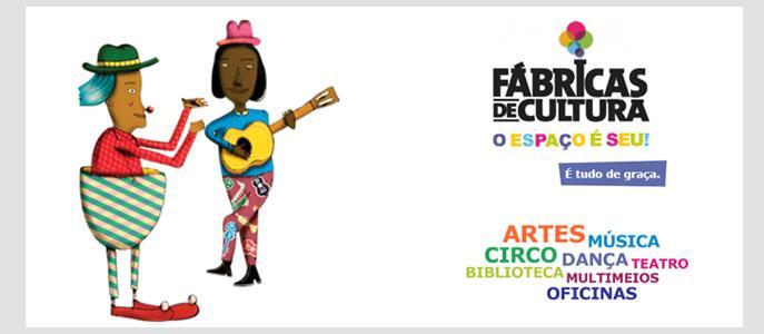 Imagem Fábricas de Cultura promove integração social e diversão
