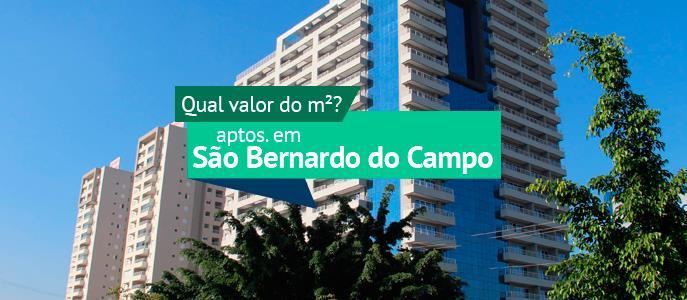 Imagem Qual o valor do metro quadrado dos apartamentos em São Bernado do Campo?