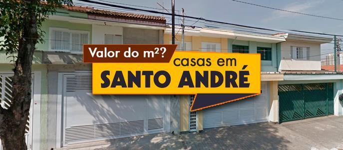 Imagem Qual o valor do metro quadrado das Casas em Santo André, SP?