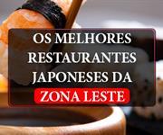 Imagem Restaurantes Japoneses na Zona Leste: saiba quais são os melhores