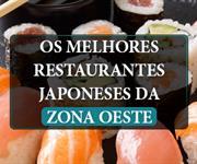 Imagem Restaurantes Japoneses na Zona Oeste: saiba quais são os melhores