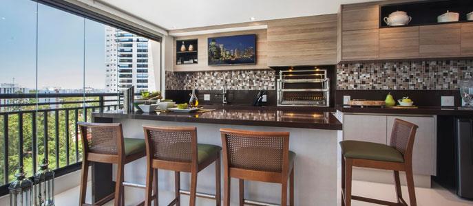 Imagem Apartamento com varanda gourmet é tendência