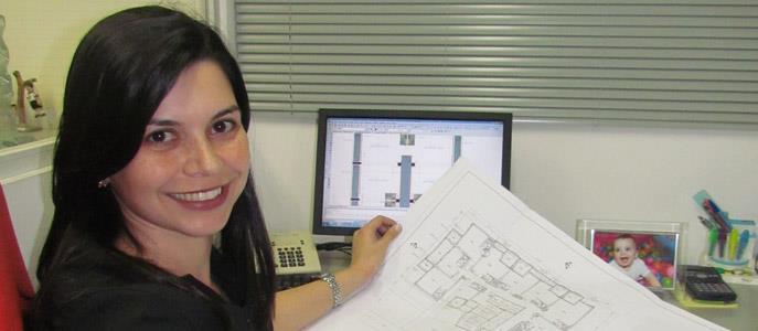 Imagem Especial Dia Internacional da Mulher - Arquiteta de sucesso