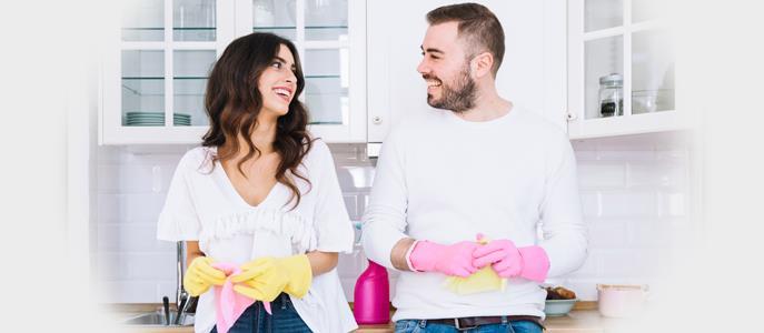 Imagem Dicas para ajudar os recém-casados na rotina da casa