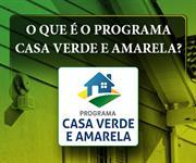 Imagem O que é o Programa Casa Verde e Amarela?