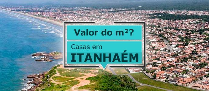 Imagem Qual o valor do metro quadrado das casas em Itanhaém?