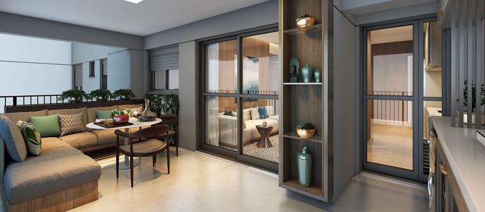 Imagem Apartamento de até 45 m2 de área útil é o mais vendido