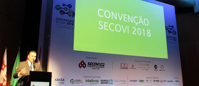 """Imagem """"Mercado imobiliário é promissor"""", diz presidente do Secovi"""