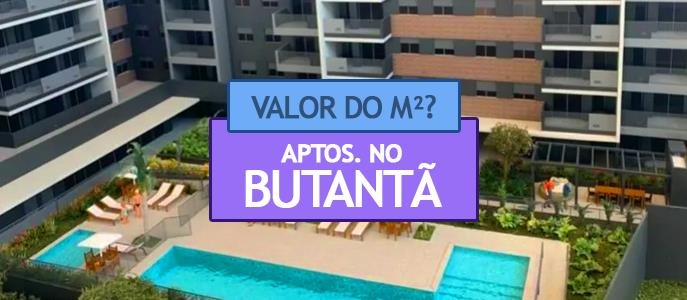 Imagem Qual o valor do metro quadrado dos Apartamentos no Butantã?