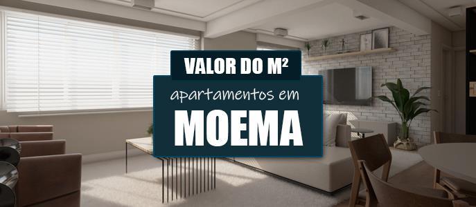 Imagem Qual o valor do metro quadrado dos Apartamentos em Moema?