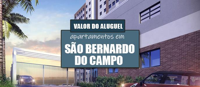 Imagem Qual o valor do Aluguel dos Apartamentos em São Bernardo do Campo, SP?