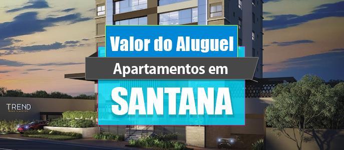 Imagem Qual o valor do Aluguel dos Apartamentos em Santana?