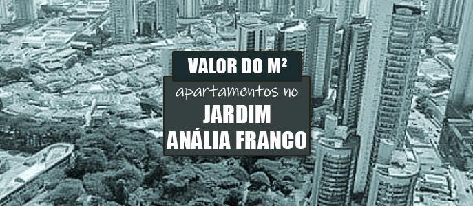 Imagem Qual o valor do metro quadrado dos apartamentos no Jd. Anália Franco?