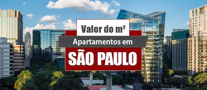 Imagem Qual o valor do metro quadrado dos Apartamentos em São Paulo?