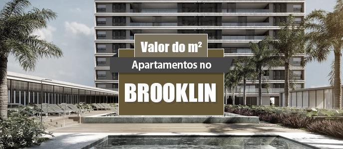 Imagem Qual o valor do metro quadrado dos Apartamentos no Brooklin?
