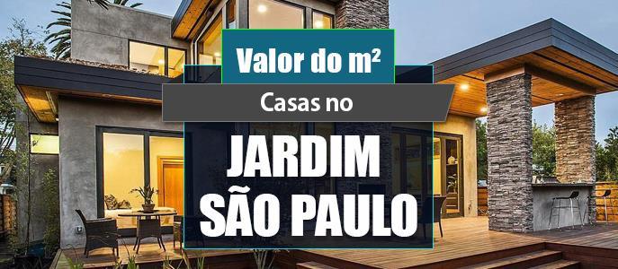 Imagem Qual o valor do metro quadrado das Casas no Jd. São Paulo?