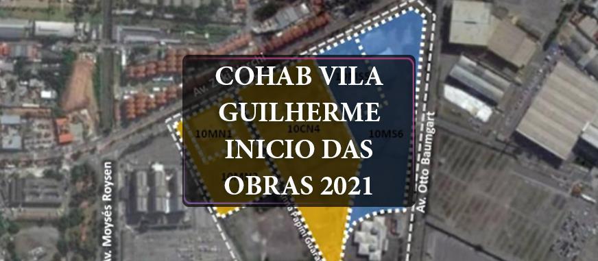 Imagem Cohab SP lançará na Zona Norte, Vila Guilherme 2.210 unidades de apartamentos