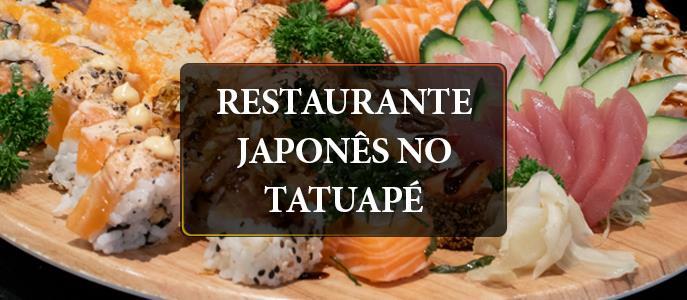 Imagem Restaurante Japonês no Tatuapé, Zona Leste de SP