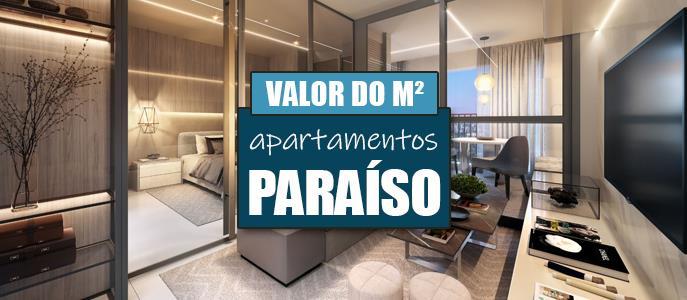 Imagem Qual o valor do metro quadrado dos Apartamentos no Paraíso?
