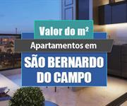 Imagem Qual o valor do metro quadrado dos apartamentos em São Bernardo do Campo?