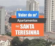 Imagem Qual o valor do metro quadrado dos apartamentos na Santa Teresinha?