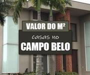 Imagem Qual o valor do metro quadrado das Casas no Campo Belo?