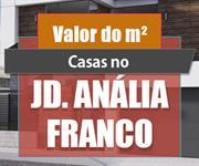 Imagem Qual o valor do metro quadrado das Casas no Jd. Anália Franco?